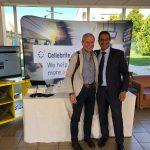 Dipartimento Informatica Forense - Vintek Engineering: Carmine Testa;   Con: Alon Zilkha - Regional Sales Manager di Cellebrite.