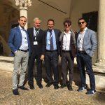 Dipartimento Informatica Forense - Vintek Engineering: Carmine Testa, Ismaele Di Natale, Fabrizio Aperuta, Nicola Palmiero;   Con: Alon Zilkha - Regional Sales Manager di Cellebrite.